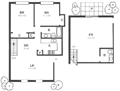 Marlborough trails apartments for rent in st louis mo for Marlborough house floor plan